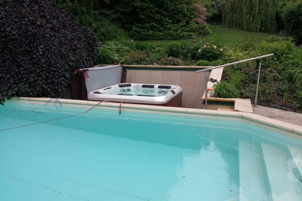 Whirlpool Villeroy & Boch A7L outdoor Garten